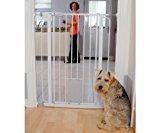 5 Pet Gates With A Cat Door 8