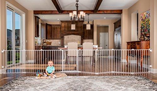 Top 5 Freestanding Pet Gate For Open Floor Concept 19