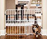 5 Pet Gates With A Cat Door 15