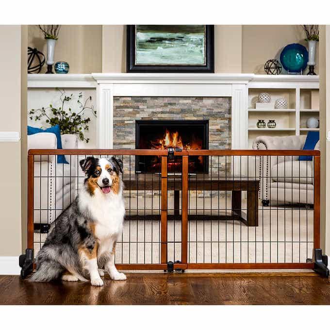 Top 5 Freestanding Pet Gate For Open Floor Concept 14