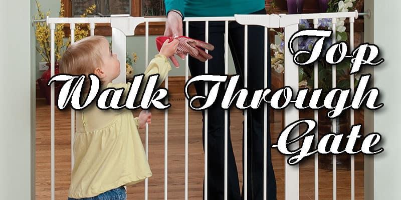 Top 5 Walk Through Baby Gate 1